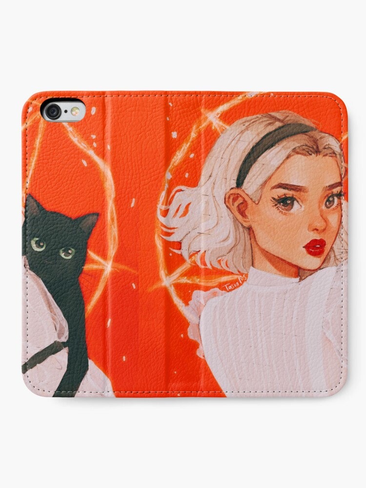Alternate view of the teenage witch iPhone Wallet
