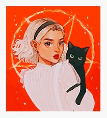 the teenage witch Photographic Print