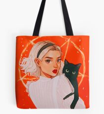 the teenage witch Tote Bag
