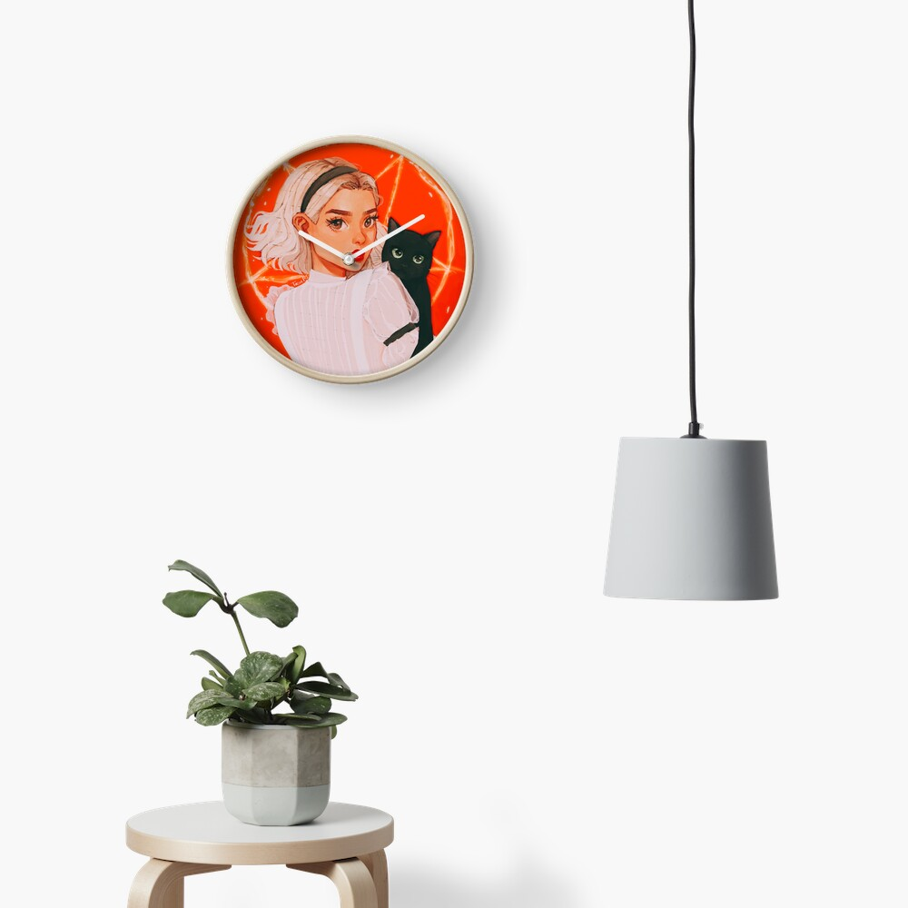 the teenage witch Clock
