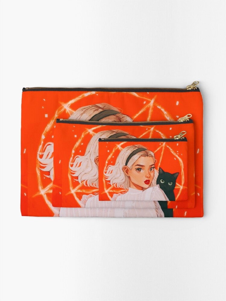 Alternate view of the teenage witch Zipper Pouch