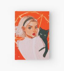 the teenage witch Hardcover Journal