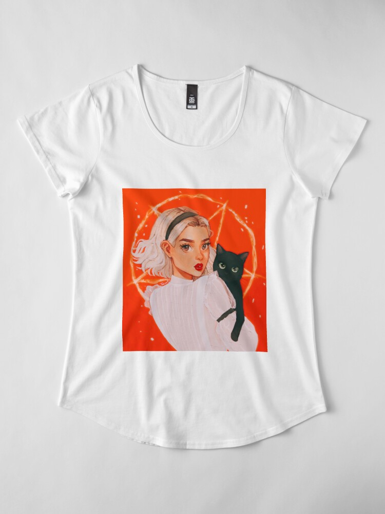 Alternate view of the teenage witch Premium Scoop T-Shirt