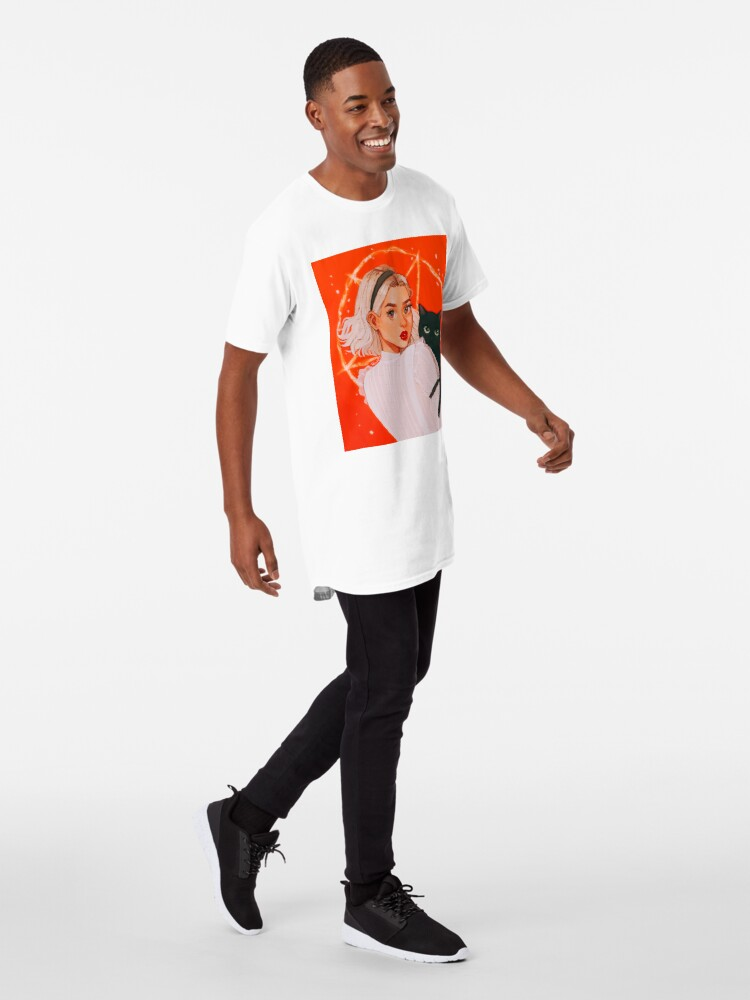 Alternate view of the teenage witch Long T-Shirt
