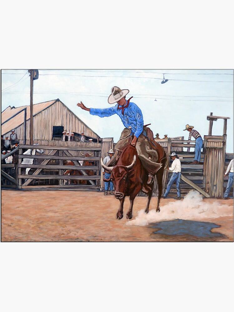 Ride 'em Cowboy by donnaroderick