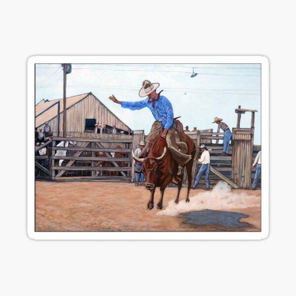 Ride 'em Cowboy Sticker