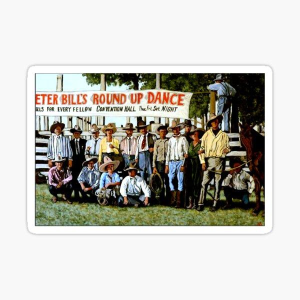 Skeeter Bill's Round Up Sticker