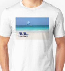 Dive boat in Curacao, Dutch Antilles T-Shirt