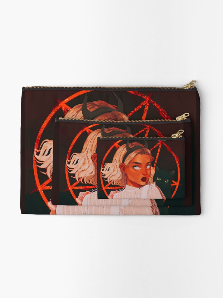 Alternate view of the teenage witch ii Zipper Pouch