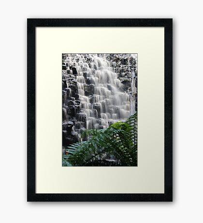 The Dip Falls Framed Print