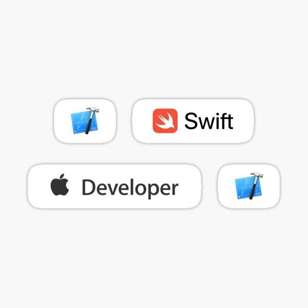 iOS Developer Swift Xcode Sticker Pack Sticker