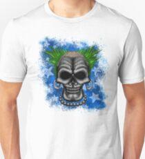Punkin' instigator Errorface Skull Slim Fit T-Shirt