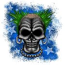 Punkin' instigator Errorface Skull by errorface