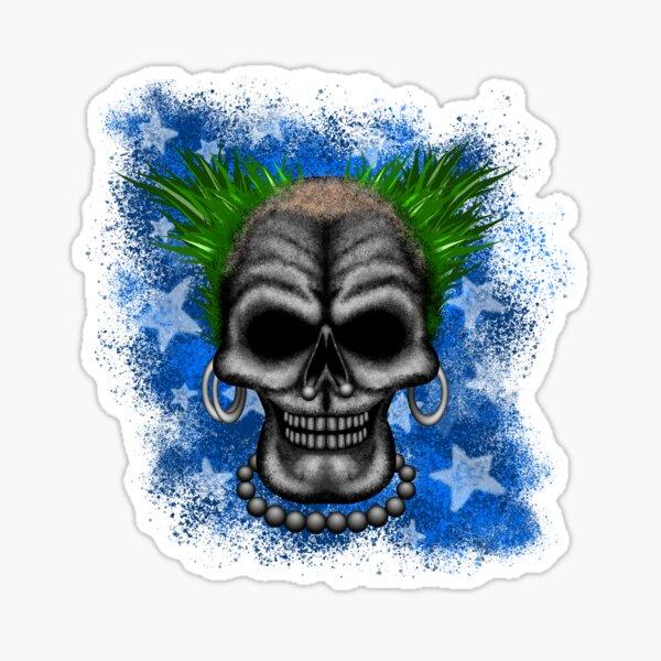 Punkin' instigator Errorface Skull Sticker