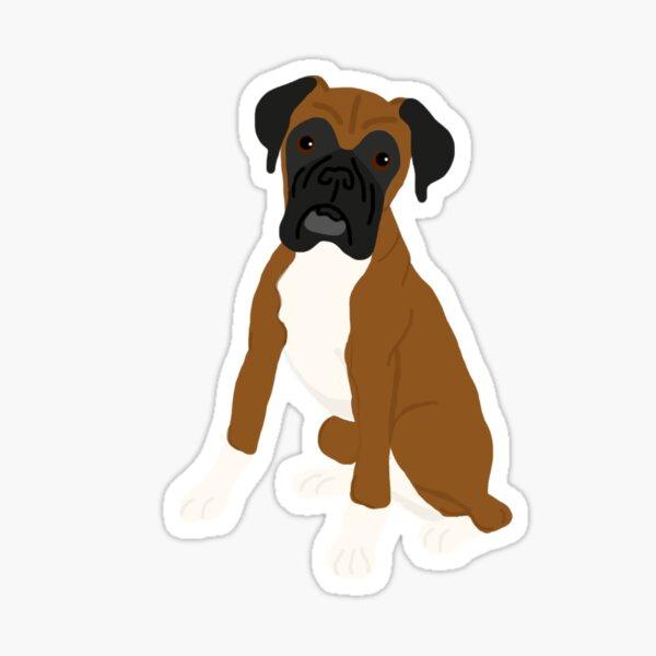 Boxer Dog Sticker