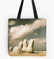 Hand in the Sand Tote Bag