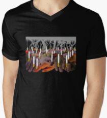 EFECTO INVERNADERO Camiseta para hombre de cuello en v