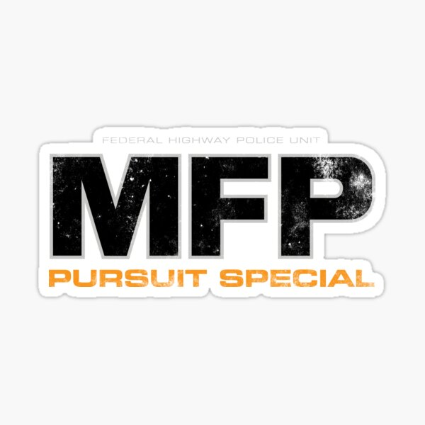 Mad Max MFP Pursuit Special Sticker