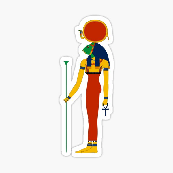 Sekhmet | Egyptian Gods, Goddesses, and Deities Sticker