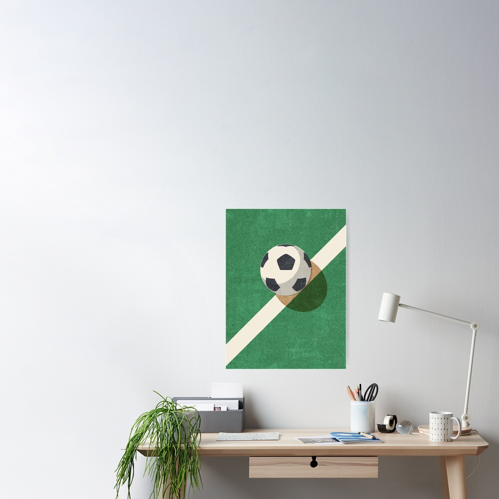BALLS / Football Poster