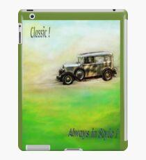Classic! iPad Case/Skin