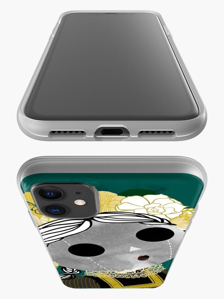 """Alternate view of Looking at the sky - """"Muñeca"""" viendo el cielo iPhone Case & Cover"""