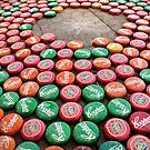 Bottle Tops by Steve Chapple