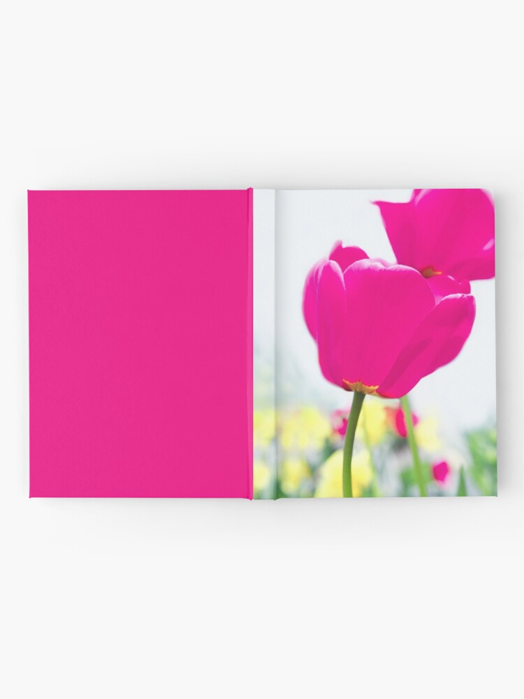 Alternate view of Hot Pink Prelude Hardcover Journal