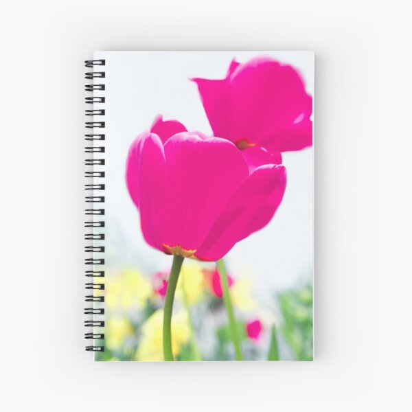 Hot Pink Prelude Spiral Notebook