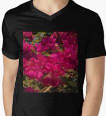 Ohne Titel T-Shirt mit V-Ausschnitt