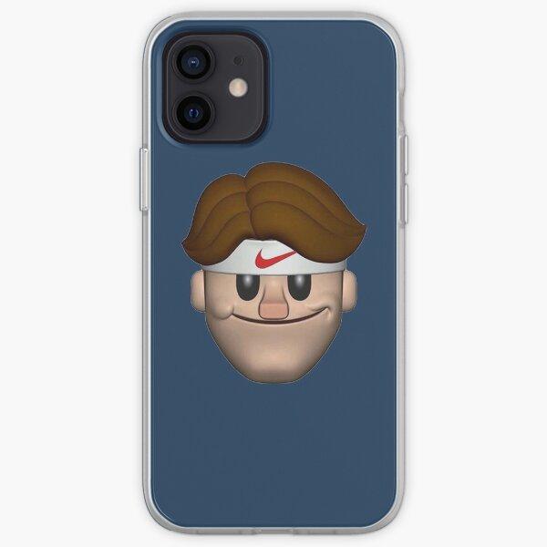 SPORT ROGER FEDERER EMOJI Coque souple iPhone