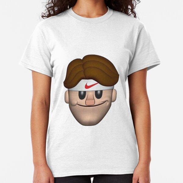 SPORT ROGER FEDERER EMOJI Classic T-Shirt