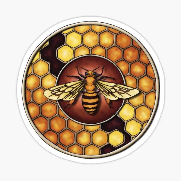 Honeybee Totem Sticker
