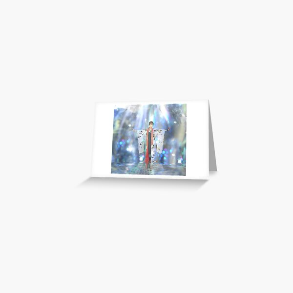 Ajna's Vision of Peace Greeting Card