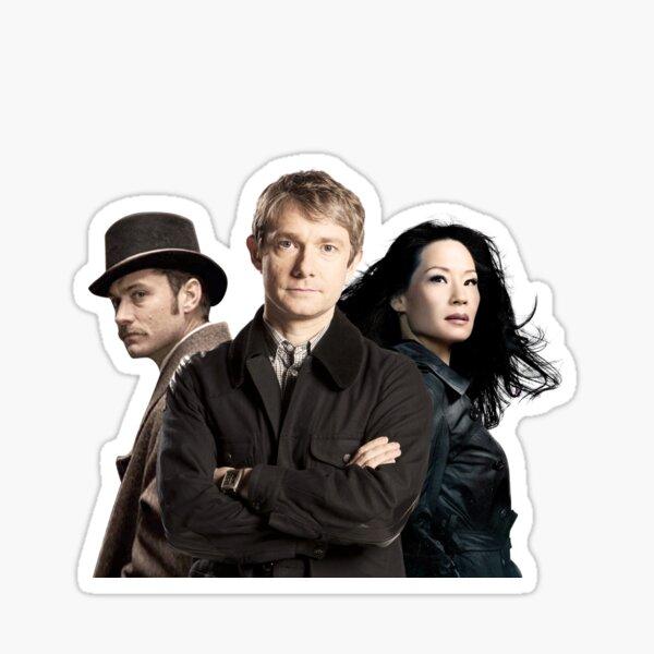 Dr. Watsons - Three Representations. Sticker
