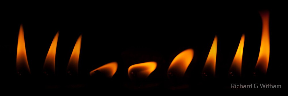Dancing Flame by Richard G Witham