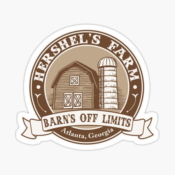 Hershel's Farm Sticker
