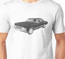 '67 Chevy Impala (Supernatural) Unisex T-Shirt