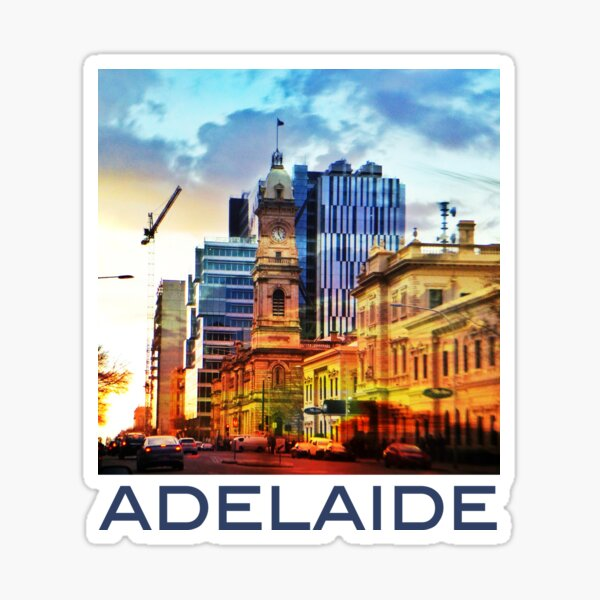 Adelaide at Sunset Sticker