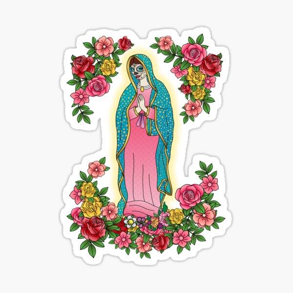Maria de los Muertos Sticker