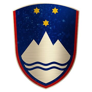 Slovenia Coat of Arms Shield by ockshirts