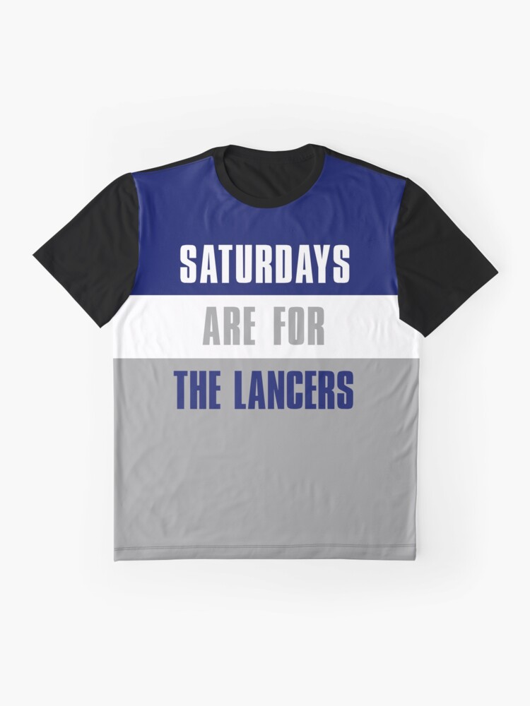 best service eaf15 f5efc Saturdays are for The Lancers, Longwood University | Graphic T-Shirt