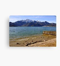 Lake Kochelsee III Canvas Print