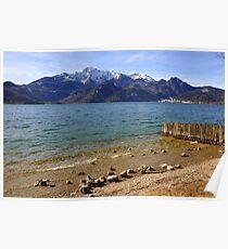 Lake Kochelsee III Poster