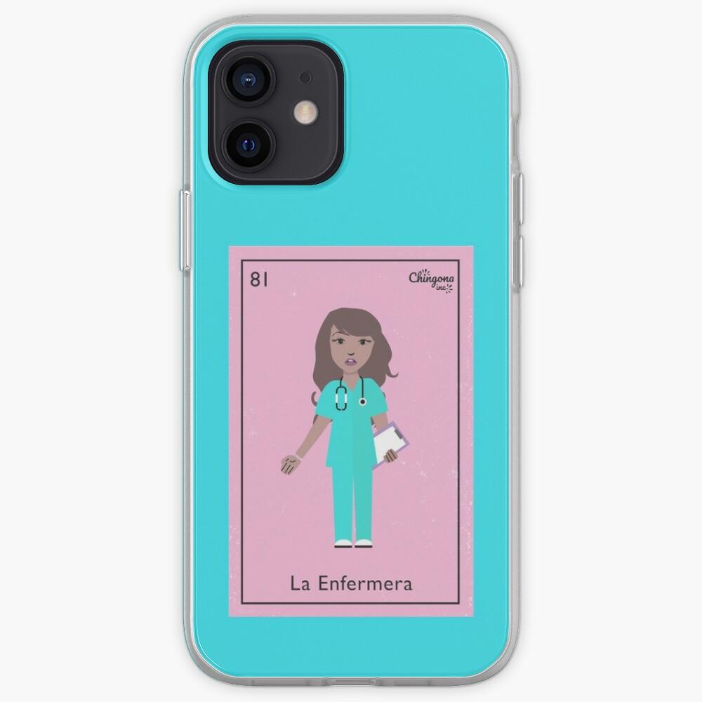 La Enfermera iPhone Case