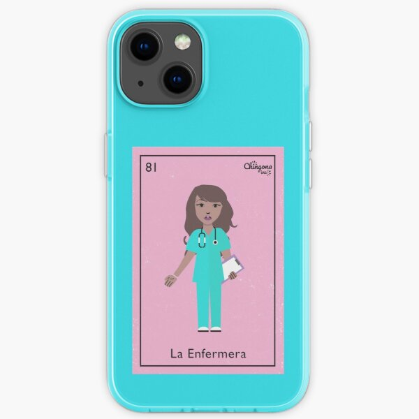 La Enfermera iPhone Soft Case