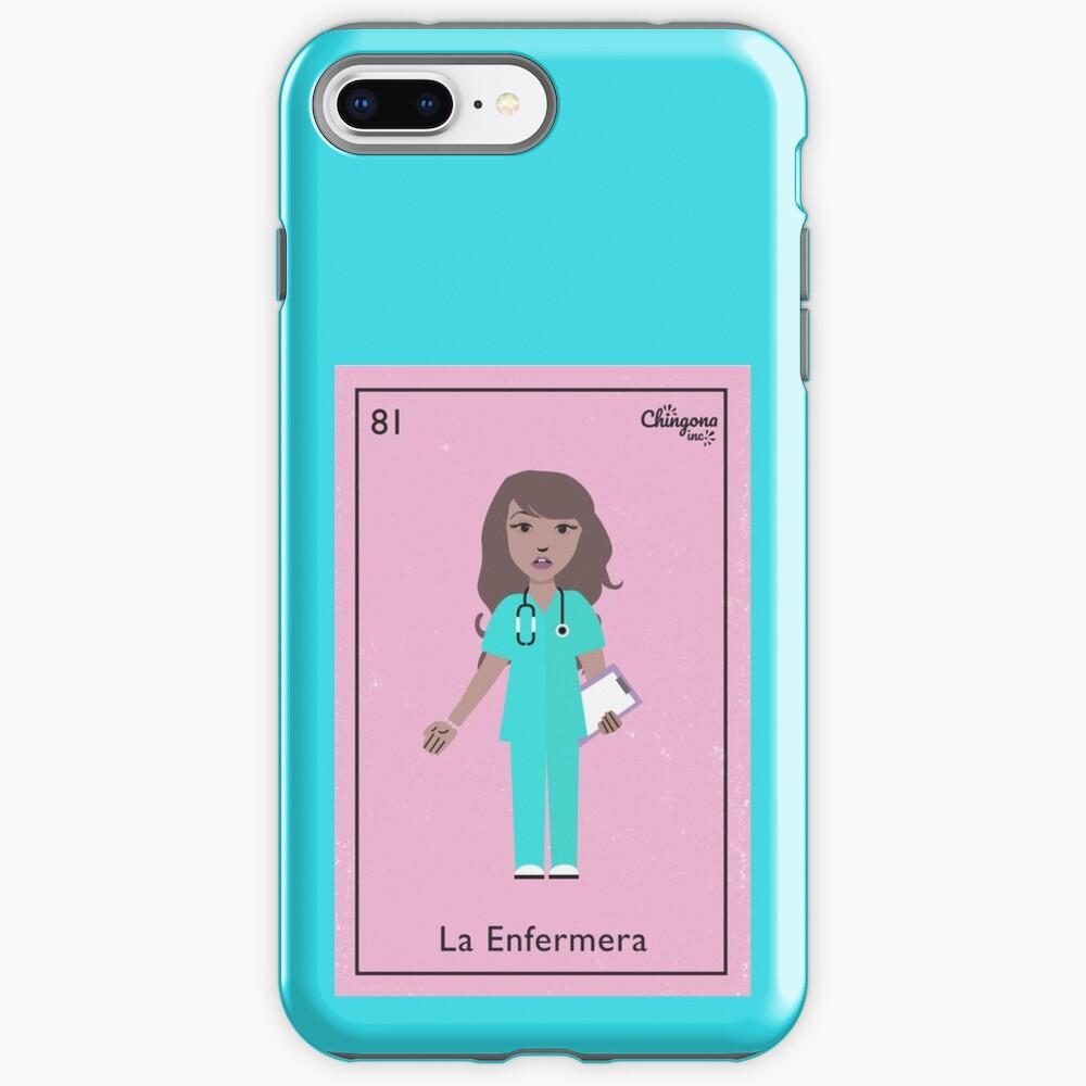 La Enfermera iPhone Case & Cover