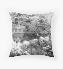 Gorge Cottage Throw Pillow
