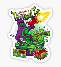 Purple's Tentaco's Sticker