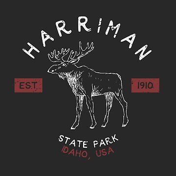 Harriman State Park Idaho Souvenirs by fuller-factory